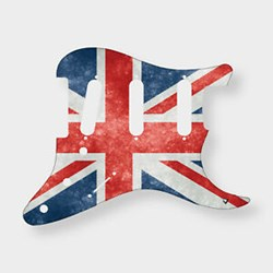 Imagem de Pickguard X-Guards AM STRAT62 Union Jack