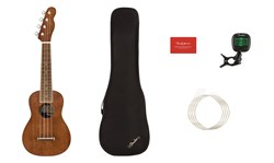 Imagem de Pack Ukulele Soprano Fender Seaside-Nat